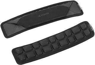 RLSOCOショルダーパッド 肩パッド 単品 マジックテープ 簡単装着 ショルダーベルト、Shoulder Sling Pad スペア 交換用/カメラケース?PCバッグ?ビジネスバッグ?スポーツバッグ など対応 (ブラック)