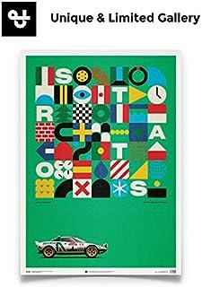(Unique & Limited Gallery)LANCIA STRATOS HF - ALITALIA アリタリア ポスター 70×50cm