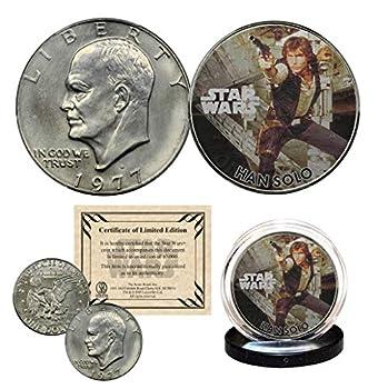 HAN Solo - Star Wars Officially Licensed 1977 Eisenhower IKE Dollar U.S Coin
