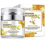 Vitamin C Face Cream Moisturizer - Advanced Brightening Cream for Dark Spot Remover - Anti Aging Face Cream, Reduce Wrinkles, Firm and Brighten Skin, Moisturizer Face Cream - For All Skin Types.