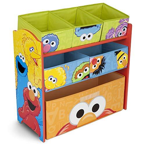 Delta Children 6-bin Toy Organizer