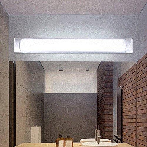 YU-K Hij is in moderne stijl wandlamp spiegel LED-spiegel vooraan lampen badkamer badkamer muur spiegelkast spiegel lamp wandlamp, warm wit, 120 cm 40 W