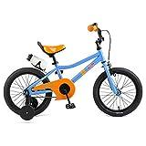 "Retrospec Koda Kids Bike Boys and Girls Bicycle with Training Wheels, 16"", Blippi"