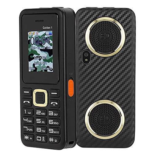 Gaeirt Teléfonos móviles para Personas Mayores, teléfonos móviles básicos para Personas Mayores con cámara, teléfono móvil pequeño con Linterna y Botones Grandes, teléfono móvil para niños(Negro)