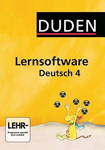 Duden Lernsoftware Deutsch 4
