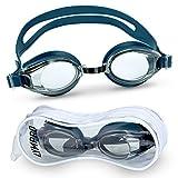 LYMPRO Sport Schwimmbrille mit Antibeschlag- und UV-Schutz, inkl. Aufbewahrungstasche