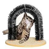 Peluquero para Gatos Cat Shoeninging, Sencillo De Montar El Tablero De Arañazos del Gato, 3 En 1 Arco De Gato Funcional
