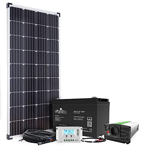 Offgridtec® Autark S-Master 130W Solarmodul 101Ah AGM 500W AC Leistung