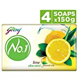 Contains: 4 soaps (150g each) Grade 1 soap with 76% TFM Suitable for all skin types and all age groups Contains natural oils to give you skin that glows with nourishment Combination of Lime and Aloe Vera leaves your skin feeling fresh and soft Fragra...