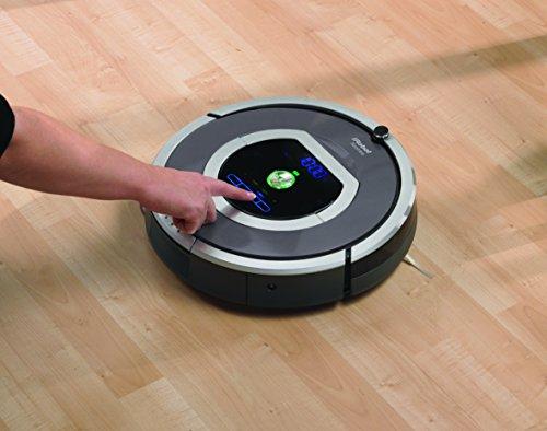 iRobot 782 Staubsaug-Roboter (30 Watt, XLife Akku, 7 Programmzeiten) grau - 6