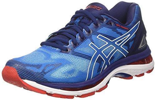 Asics Gel-Nimbus 19, Zapatillas de Running Hombre, Azul (Diva Blue/White/Indigo Blue), 44 EU