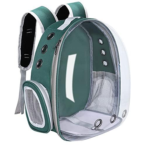 Bolsa portátil para Perros y Gatos,cápsula Espacial Transpirable,Bolsa Viaje para astronautas,Transparente,para Exteriores,pequeña,para...