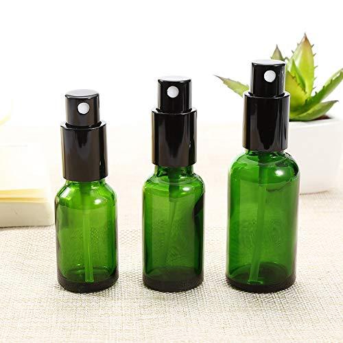Love lamp 20ml / 30ml / 50ml Vert Parfum Verre Vide Pulvérisateur cosmétiques Jar Pot Mini Maquillage Atomiseur Bouteilles d'échantillons (Specifications : 30ml)