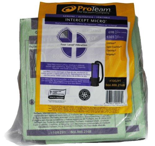 Pro Team Intercept - Bolsa aspiradora microfiltro