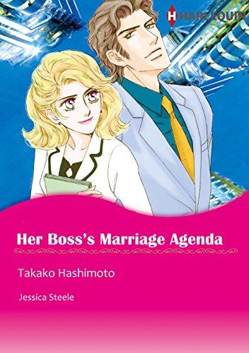 Her Boss's Marriage Agenda: Harlequin comics (English Edition)