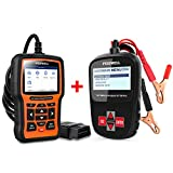 FOXWELL (12v Battery Tester BT100 Pro + Car Scanner for VAG NT510 Elite) Car Professional Diagnostic Tool Set