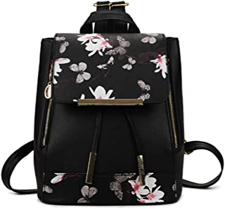Beauenty Fashion Student Backpack PU Leather Women Handbags