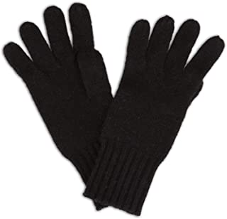 Women's 100% Pure Knit Ultra Plush Cashmere Gloves Ribbed Cuff