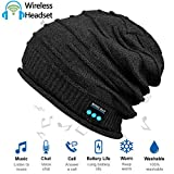 Upgraded Wireless Bluetooth Beanie Hat with Headphones V4.2, Unique Christmas Tech Gifts for Teen...