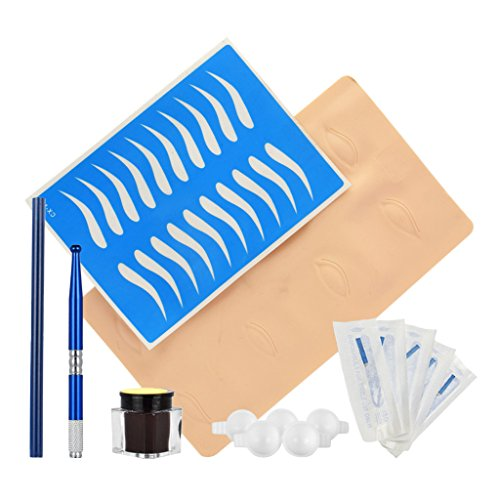harayaa Microblading Pen Pencil Set für Manuelle Stifte - Blau