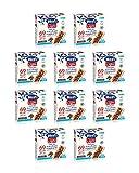 Hero Light barrette ai cereali e cioccolato, 10 confezioni da 6 barrette X 20 gr, senza ol...