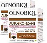 Oenobiol Autobronzant Peau Claire et Sensible Lot de 2 x 30 Capsules
