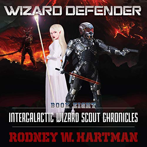 Wizard Defender audiobook cover art