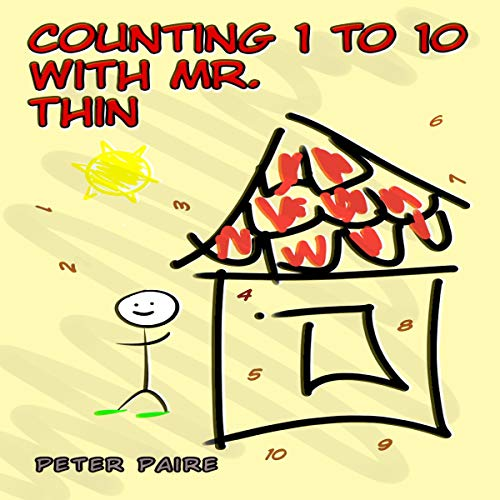 Counting 1 to 10 with Mr. Thin cover art