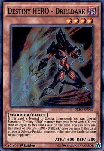 Destiny HERO Super Rare 1st Edition Diamond Dude DESO-EN009
