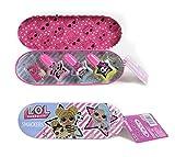 Lip Smacker L.O.L. Nail Beauty Tin - Set de Uñas Compacto en una Moderna y Colorida Lata con Esmaltes de Uñas - Kit de Manicura para Niñas - Regalo para Niñas 110 g