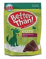 Better Than Bacon Mini Ears Dog Treats, 15 Count by Rachael Ray Nutrish