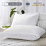 Viewstar 2 Pack Sleeping Pillows Queen Size Hotel Quality Bed Pillow Hypoallergenic Down