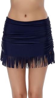 FeelinGirl Damen Bikinihose Badeshorts Wassersport Minimizer Bikini Hose High Waist Bikini Slip
