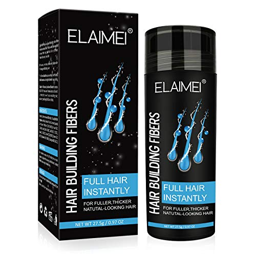Black Hair Fibers For Thinning Hair, Hair Powder, Hair Thickening Products For Men And Women, Beautiful Hair Thickening Spray, Quick Hair Volumizer Decoration, Hair Fiber Spray Bald Spot Cover Up.