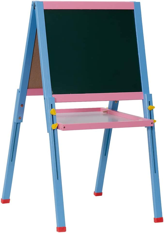 Easel for Kids Double Sided Ea Art Ranking integrated 1st place Whiteboard Chalkboard 5 popular