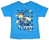Tube Heroes Boys' TDM Short Sleeve Shirt (XX-Large) Blue
