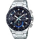 【セット商品】[カシオ]CASIO エディフィス EDIFICE ソーラー クロノグラフ クオーツ メンズ 腕時計 EQS-920DB-1BVUDF メンズ 腕時計&マイクロファイバークロス 13×13cm付き [逆輸入品]