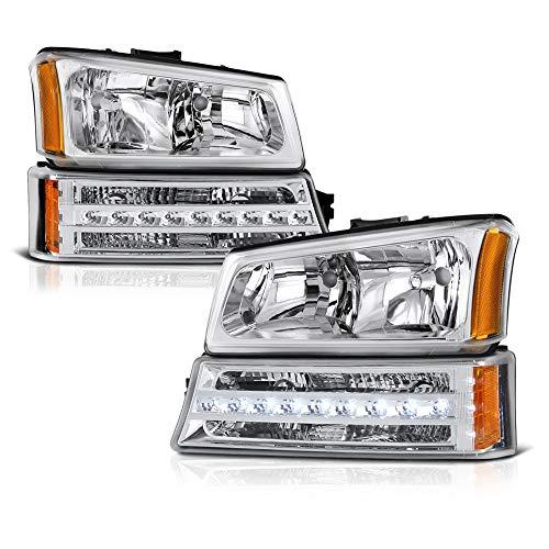 04 silverado oem headlights - 2