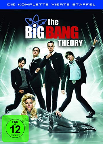 Cover The Big Bang Theory - Die komplette vierte Staffel [3 DVDs]