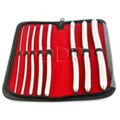 BDEALS 8 Pcs Set Hegar Uterine Dilator With A Carrying Case