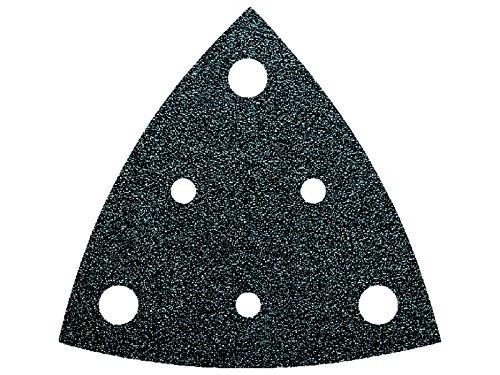 Fein 63717116016 Schleifblätter Korn 240 | universeller Einsatz auf nahezu allen Materialien | gelocht | Klettschnellbefestigung | hohe Abtrageleistung | 50 Stück, 1 V, Schwarz, Grit, Pack
