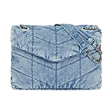 Parfois - Bolso Bandolera Denim - Mujer - Talla M - Azul