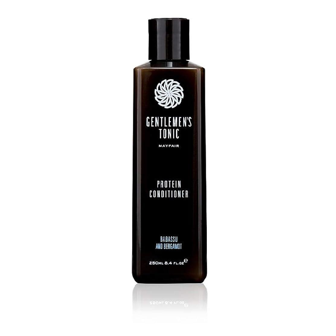 魂暴力的な振動するGentlemen's Tonic Protein Conditioner 250 ml