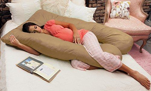 Naomi Home Cozy Body Pillow Copper