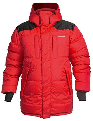 Bergans Expedition Down Parka, Farbe Red/Black, Größe XXL