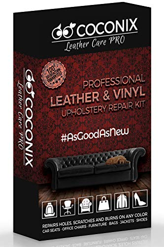 Coconix Upholstery, Vinyl and Leather Repair Kit - Furniture,...
