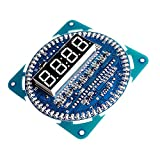 MagiDeal Reloj Electrónico LED Giratorio Digital Conjunto Módulos Kit Producción Bricolaje