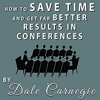 How to Save Time and Get Far Better Results in Conferences audiobook cover art