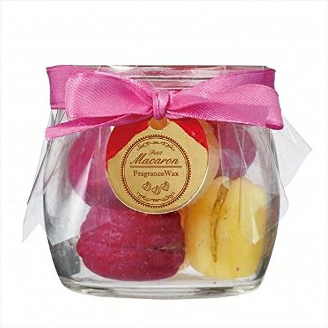 不安定連結する奴隷sweets candle(スイーツキャンドル) プチマカロンフレグランス 「 ベリー 」 キャンドル 60x60x56mm (A3160510)