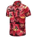 EVNMENST Hawaiian Shirt for Men Short Sleeve...